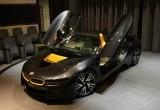 BMW i8 Spesial Mejeng di Abu Dhabi