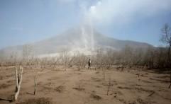 Kondisi Akibat Erupsi Gunung Sinabung