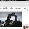 4 Orang Luka Parah dalam Kecelakaan Roller Coaster