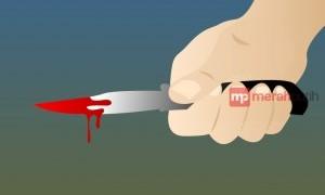 Pelaku Penusukan Istri Diringkus Saat Hendak Naik Angkot