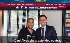 Barcelona Resmi Perpanjang Kontrak Dani Alves