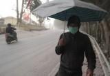Hujan Abu Vulkanik Gunung Sinabung