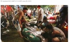 Satu Korban Ledakan di Taman Rekreasi Air Taiwan Tewas