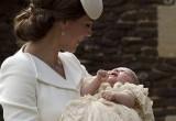 Foto Putri Charlotte Dibaptis