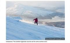 Pasca Gelombang Panas, Badai Salju Ancam Inggris