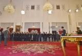 Pelantikan Panglima TNI  Gatot Nurmantyo