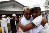 Lebaran Pengungsi Rohingya