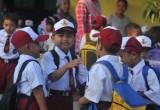 Hari Pertama Sekolah Pasca Lebaran
