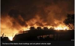 12 Pemadam Kebakaran Tewas akibat Ledakan di Tiongkok