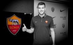Pertajam Lini Depan, AS Roma Boyong Edin Dzeko