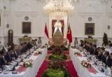 Pertemuan Bilateral Jokowi dengan PM Timor Leste