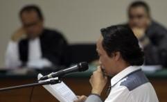 Suasana Sidang Komedian Mandra di Pengadilan Tipikor