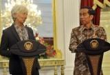 Pertemuan Presiden Jokowi dengan Direktur IMF
