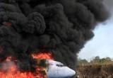 Simulasi Kecelakaan Pesawat di Kupang dan Bandung
