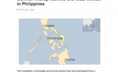 Pria Bersenjata Culik Turis di Filipina