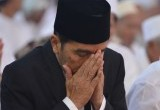 Salat Idul Adha dan Kurban Jokowi di Banjar