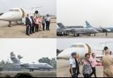 Menteri Susi dan Rizal Ramli Uji Coba Pesawat Boeing MSA N614BA