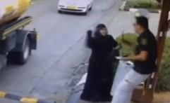 Video Wanita Palestina Tusuk Pihak Sekuriti Israel