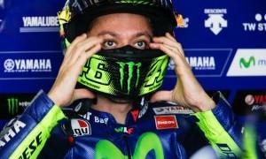 Valentino Rossi Tinggalkan Rumah Sakit