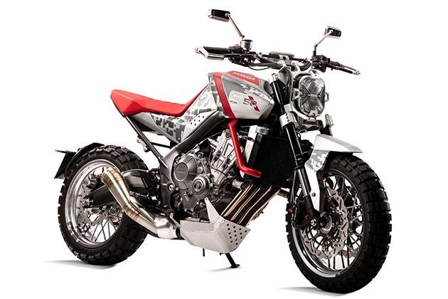 Honda Six50 Scrambler, Motor Konsep Bertajuk Trail