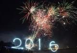 Pesta Kembang Api Perayaan Tahun Baru 2016