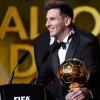 Sabet Ballon d'Or, Lionel Messi Puas Kalahkan Cristiano Ronaldo