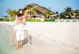 Romantisnya Honeymoon Chelsea dan Glenn di Maldives