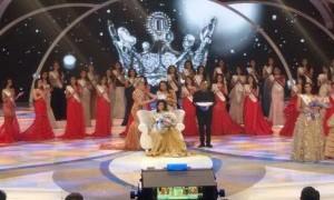 Natasha Mannuela Raih Gelar Miss Indonesia 2016