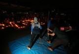 Kemeriahan Earth Hour di Kota Tangerang