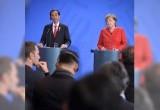 Presiden Jokowi Bersama Kanselir Jerman
