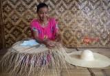 Topi Bambu Desa Ancol Pasir