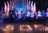 Aksi Malam Solidaritas 40 Hari Kematian YN