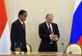 Presiden Jokowi di Rusia