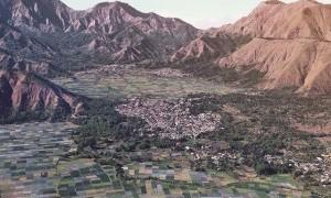 Landscape Indah Penuh Warna dari Bukit Pergasingan Sembulan