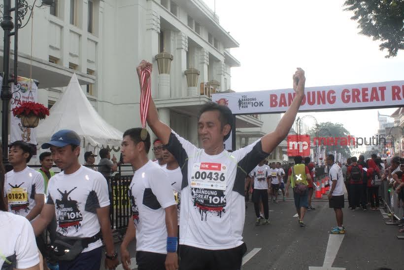 Ajang YOI Bandung Great Run 10K Diikuti Ribuan Peserta