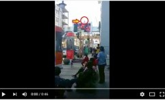 Video Detik-detik Bunuh Diri di JPO Alun-alun Bandung