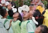 Keseruan Anak-anak SD Lomba 17 Agustusan