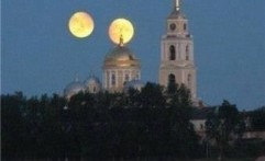 Kabar Fenomena Bulan Kembar Ternyata Hoax