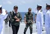 Jokowi Hadiri Latihan Armada Jaya XXXIV 2016