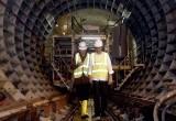 Jokowi Tinjau Proyek Pembangunan LRT