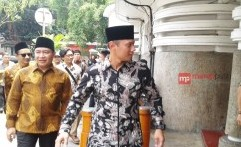 Jadi Cagub DKI, Agus Yudhoyono Berguru Pada Ulama NU
