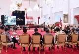 Presiden Jokowi dalam Rapat Pungli