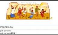 Google Doodle Rayakan Hari Sumpah Pemuda ke-88
