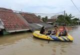 Banjir Rendam Ratusan Rumah di Total Persada Kota Tangerang