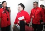 Megawati Soekarnoputri di Rapat Konsolidasi PDIP