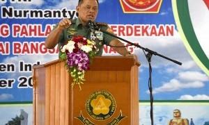 Ketika Panglima TNI Gatot Nurmantyo Memuji Megawati di Depan Taruna Akmil