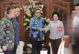 Pertemuan Zulkifli Hasan dengan Megawati Soekarnoputri