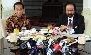Sesudah Megawati, Kali Ini Surya Paloh Dijamu Presiden Jokowi