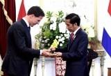 Presiden Jokowi Bersama PM Belanda