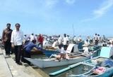 Presiden Jokowi Bertemu Nelayan Makassar